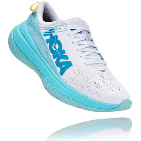 Hoka One One Carbon X Running Shoes Women, white/angel blue